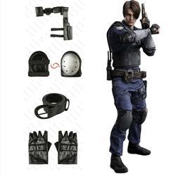 Resident Evil Leon Cosplay Costume Men Betl Holster Guard Pr