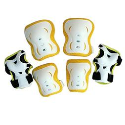 Eruner Kids' Roller Skating Knee Pads Elbow Pads Wrist Guard