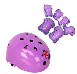 Set of 7 Kids Children's Roller Skating Safeguard Sports Sup