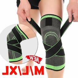 Sale Unisex Support Compression Socks Knee Pad 3D Knee Brace