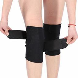 Self Heating Knee Pads Magnetic Therapy Kneepad Arthritis Br