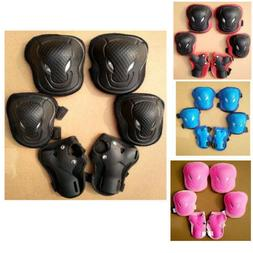 Skateboard bike Knee Pads and Elbow Pads with Wrist Guards P