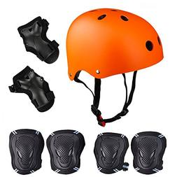 Skateboard / Skate Protection Pads Set with Helmet--SymbolLi