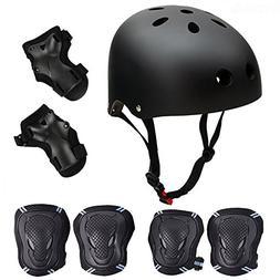 Skateboard / Skate Protection Set with Helmet--SymbolLife He