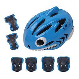 aomigell Kids Skateboard Skate Scooter Cycling Bike Helmet w