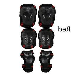 Skating Protective Gear Sets Elbow Knee Pads Bike Skateboard