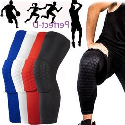 Sport Basketball Hex Leg Sleeves Extended Compression Suppor