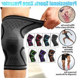 Sport Sleeve Knee Support Brace Knee Pads Basketball Elastic