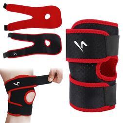 Sports Leg <font><b>Knee</b></font> Support Brace Wrap Prote