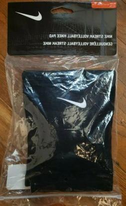 Nike Streak Volleyball Knee Pads XL/XXL Blk White Brand NEW