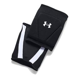 Under Armour Strive 2.0 Knee Pads, Black//White, Large