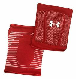 strive volleyball knee pads black red white