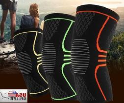 Elastic Compression Sleeve Knee Support Brace Knee Pads Spor