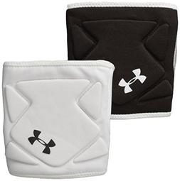 Under Armour Switch Volleyball Knee Pad, White/Black/Black,