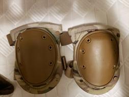 Alta Tactical 2-Strap Knee Pads, Multicam Camo, Universal Mu