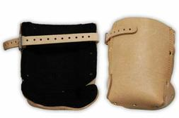 Tan Leather Knee Pads  - KP-29269