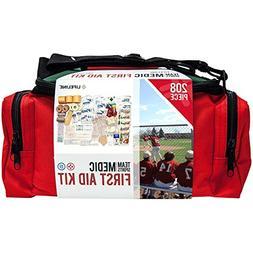 Lifeline 207-Piece Team Sports Medic First Aid Kit