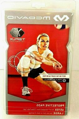 MCDAVID TEFLX Volleyball Sports Knee Elbow Pads Pair 2 Size