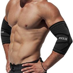 Mava Sports Tennis Elbow Brace for Tendonitis  - Elbow Compr