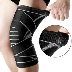 Unisex Support Brace Knee Pads Patella Elastic Outdoor For S
