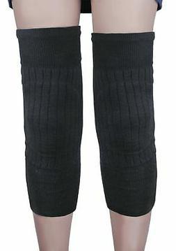 Fakeface Unisex Wool Knee Brace Pad Winter Warm Thermal Knee