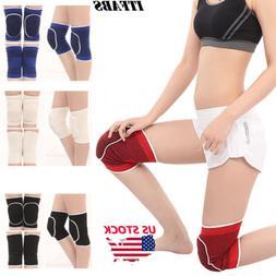 US Adult Knee Pads Dance Kneepad Knee Brace Support Leg Elbo