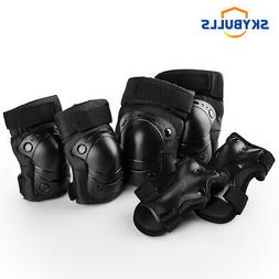US BMX Bike Knee Pads and Elbow Pads with Wrist Guards Prote