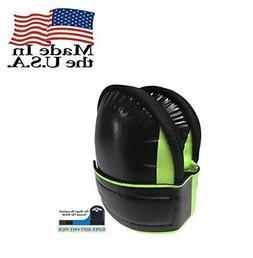 Troxell USA Super Soft Large Hi-Viz Fluorescent Green Knee P