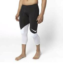 Nike Vapor Speed 3/4 Football Knee Padded Pants 835340-010 M