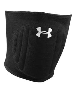 Under Armour Unisex Armour Volleyball Knee Pad, Black/White,