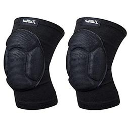 Luwint Youth Volleyball Basketball Knee Pads - High Elastic