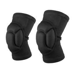 VS2# 2x Sponge Volleyball Extreme Sports Knee Pad Brace Thic