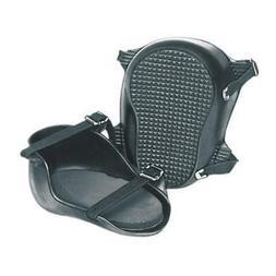 Knee Pads,Rubber/Rubber Cushion,Black,PR KRAFT TOOL WL070