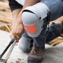 Work Knee Pads For Men Construction Work Gel Pair Garage Wor
