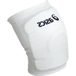 X2 ASICS Volleyball Knee supporter Pads from Japan White Nav