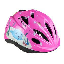 LINGMAI Kids Youth Adjustable Comfortable Helmet with Sports