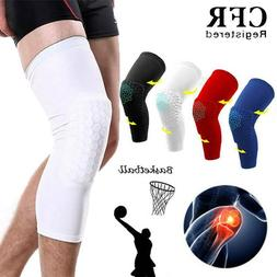 Youth Basketball Knee Support Pad Honeycomb Leg Long/Elbow S