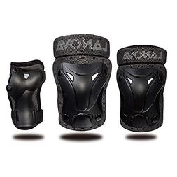 LANOVAGEAR Kids Youth Protective Gear Set, Knee and Elbow Pa