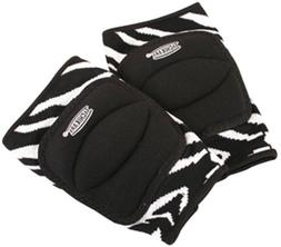 Tachikara Zebra Knee Pads, Small-Medium